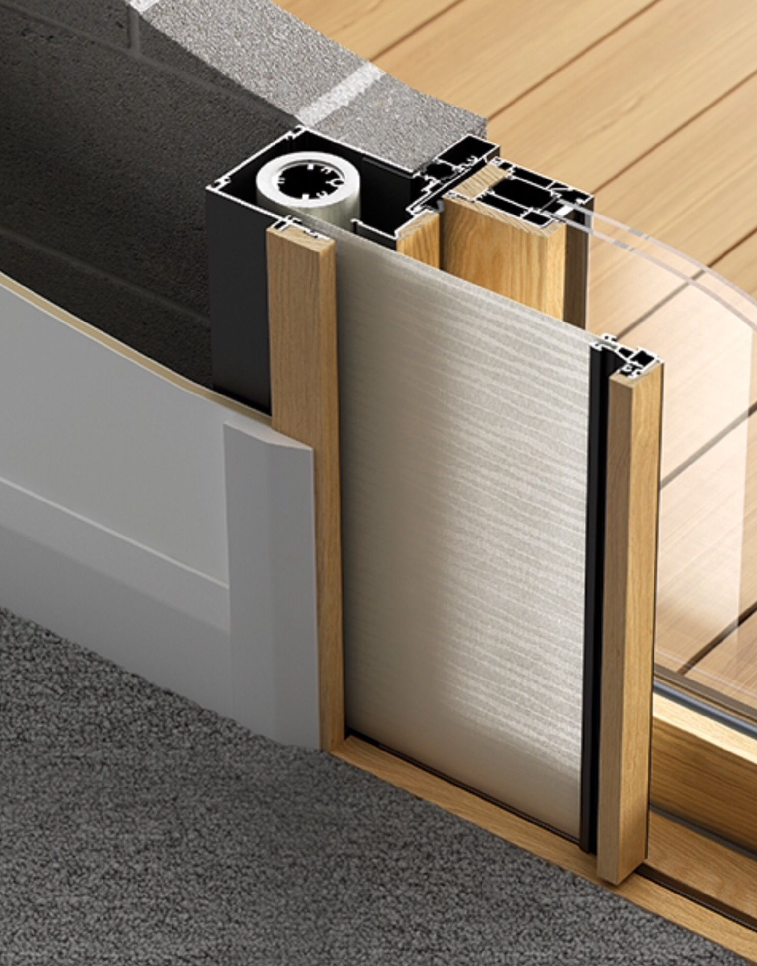 Doors \u2013 Integrated Sliding Doors | Centor & Doors \u2013 Integrated Sliding Doors | Centor | ideas | Pinterest ...