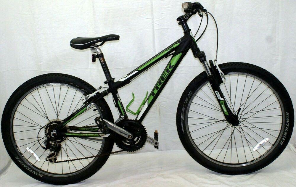 Trek 3500 Mtb Bike Xs 13 26 Hardtail Suspension Fork V Brake