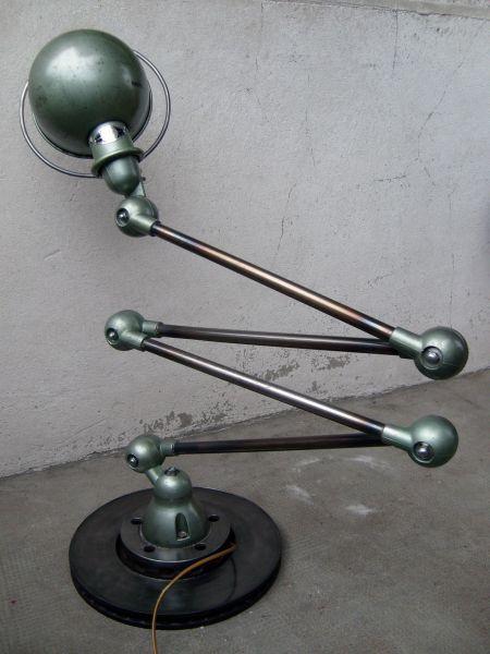 lampe jielde 1952 4 bras s7300706 escalier d coration industrielle pinterest luminaire. Black Bedroom Furniture Sets. Home Design Ideas
