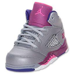 check out bdebf 2780c Girls' Toddler Air Jordan Retro 5 Basketball Shoes ...