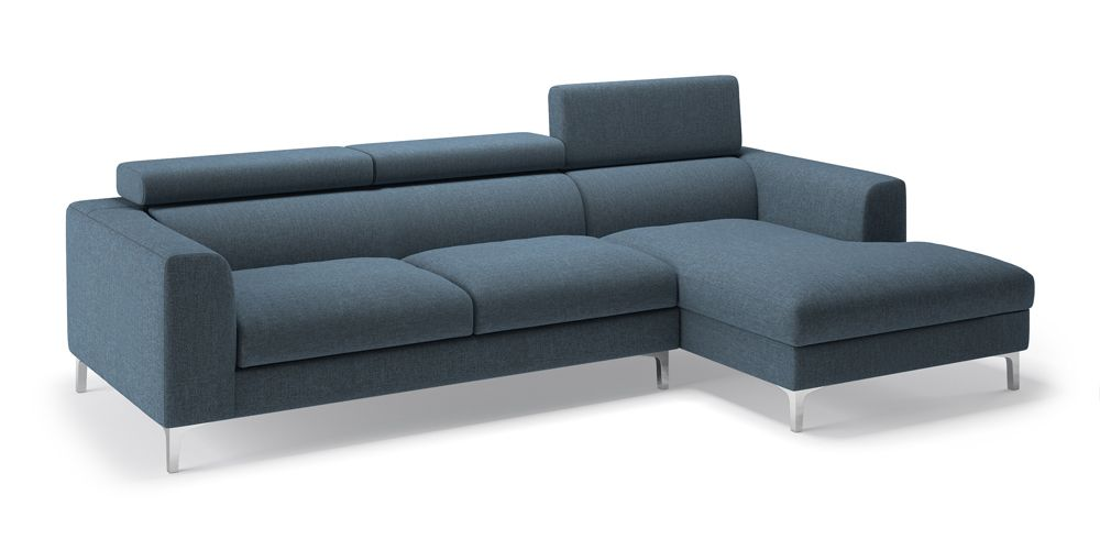 Chelsea Adjustable Sectional Sofa Blue Blue None Standard Set Sofas Fabric Sofa Material Regular Sofa S Corner Sofa Design Sectional Sofa Sofa Material