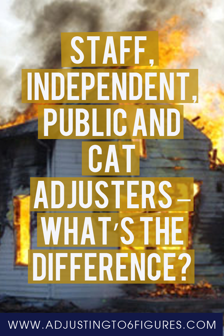 Staff Independent Public And Cat Adjusters What S The