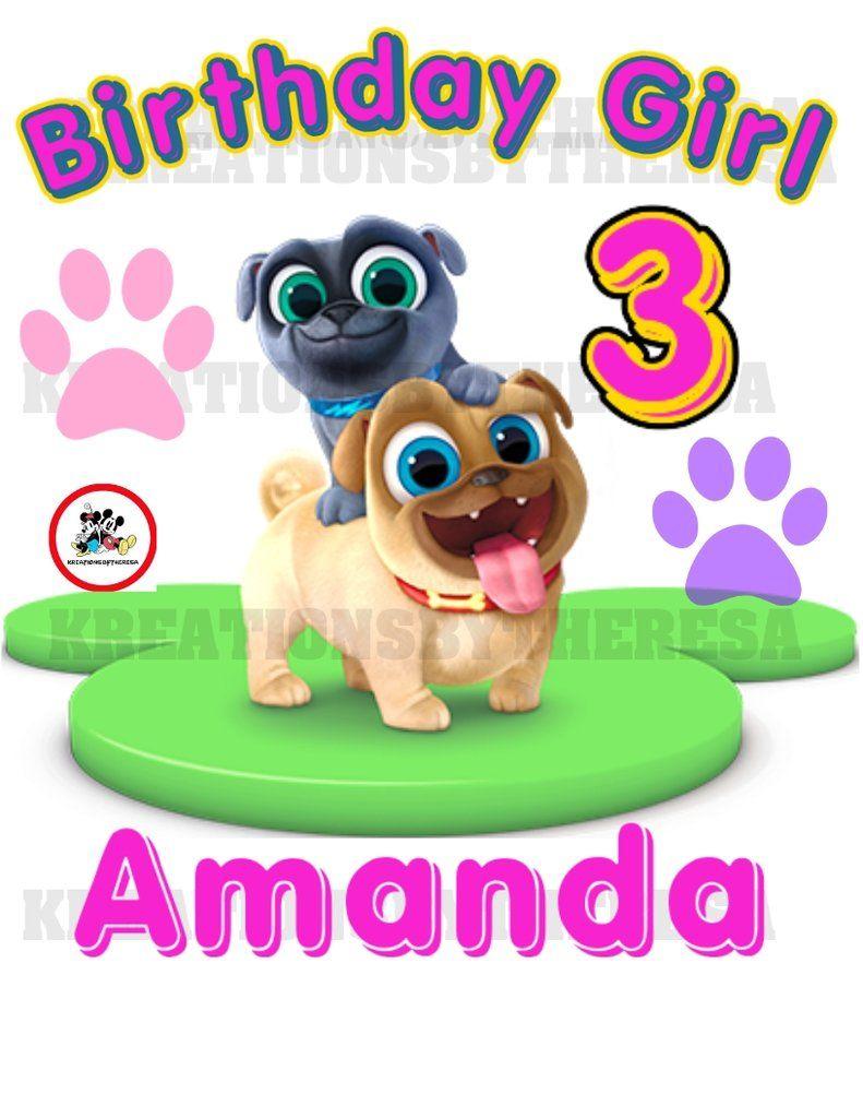 Puppy Dog Pal Puppy Dog Pal Birthday Girl Birthday Shirt Family