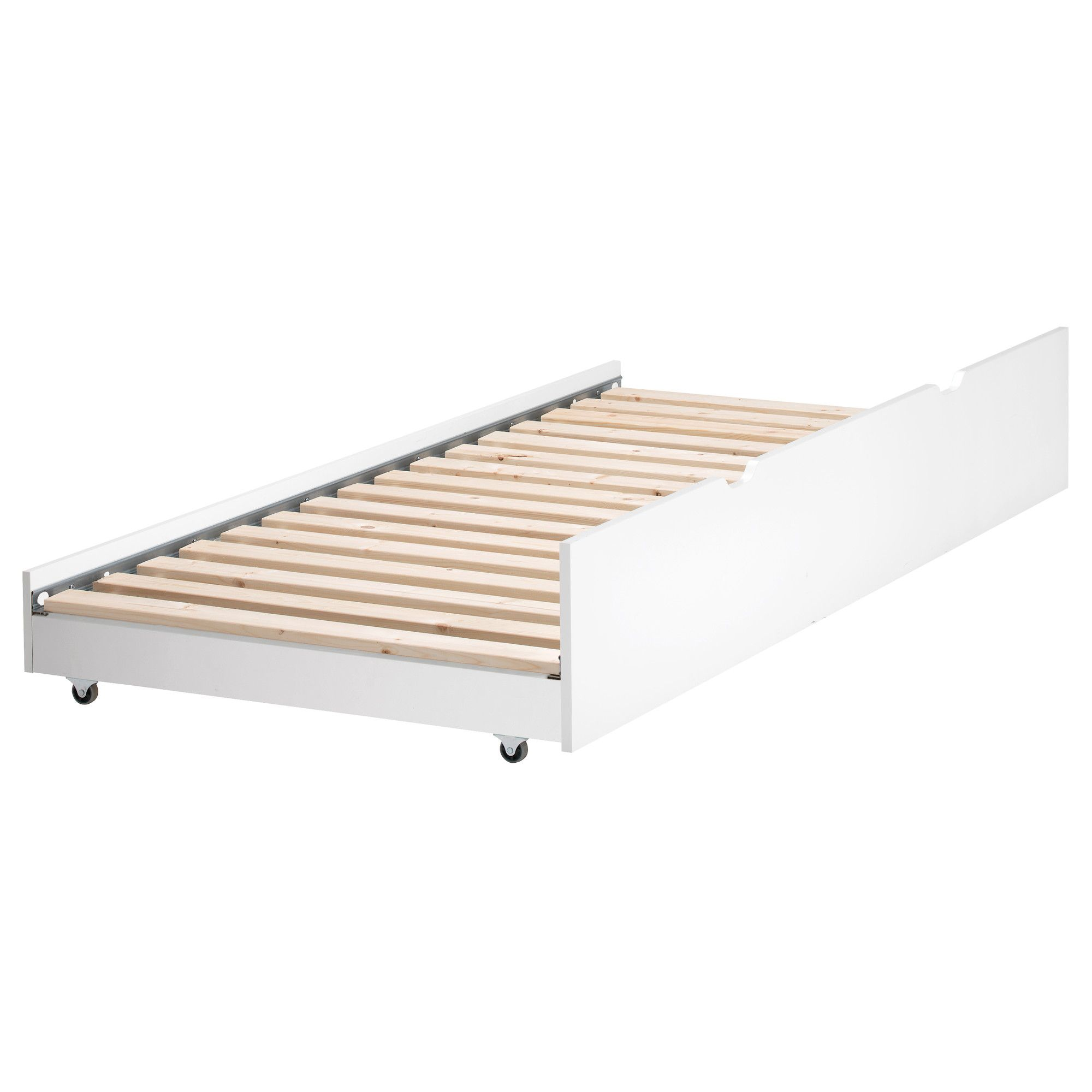 Flaxa Pull Out Bed Ikea 100 Length 74 3 4 Width 39 8 Height 12 1 Mattress 38
