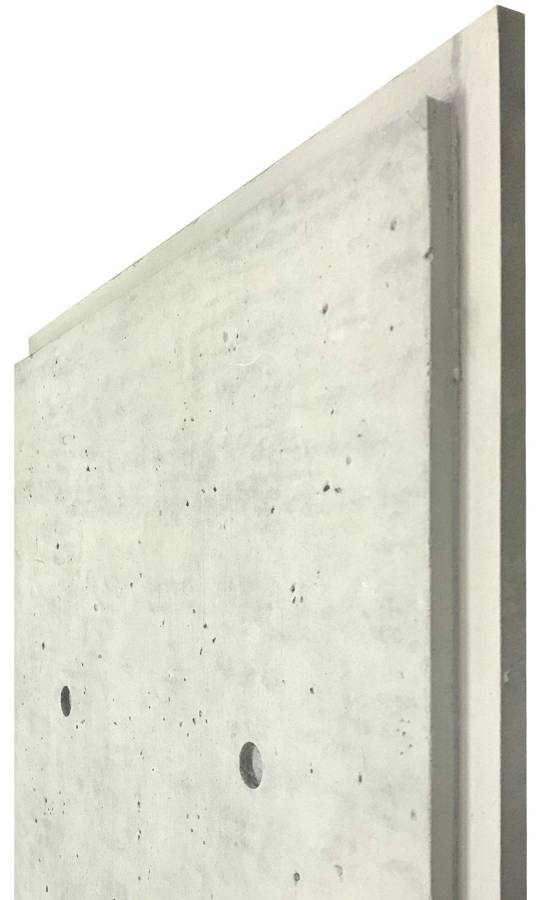 Faux Concrete Panels Wall Theory