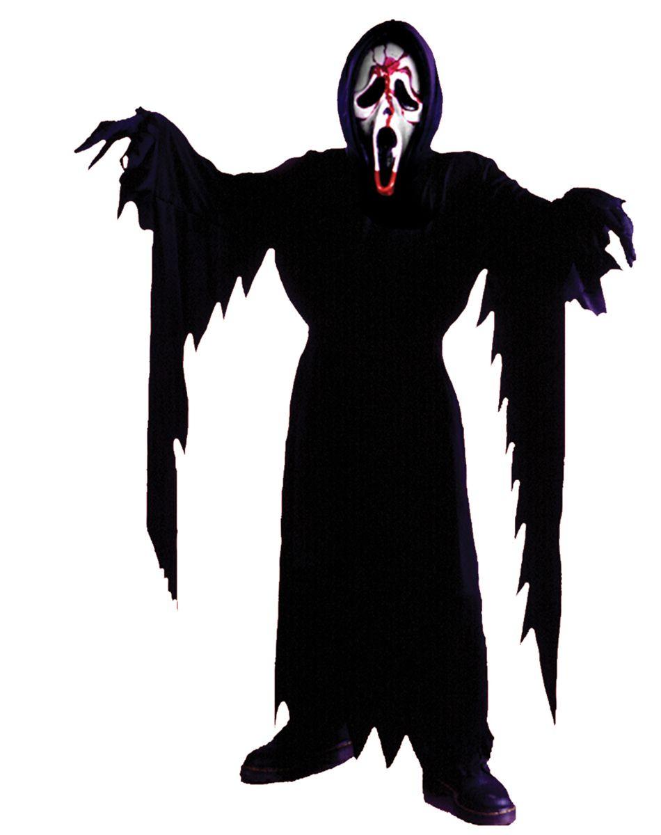 Bleeding #Scream Mask Demon Ghost Halloween Horror Fancy Dress Outfit Accessory