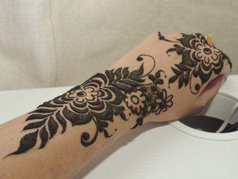 Simple Khaleeji Henna 2 Youtube Henna Video Pinterest Henna