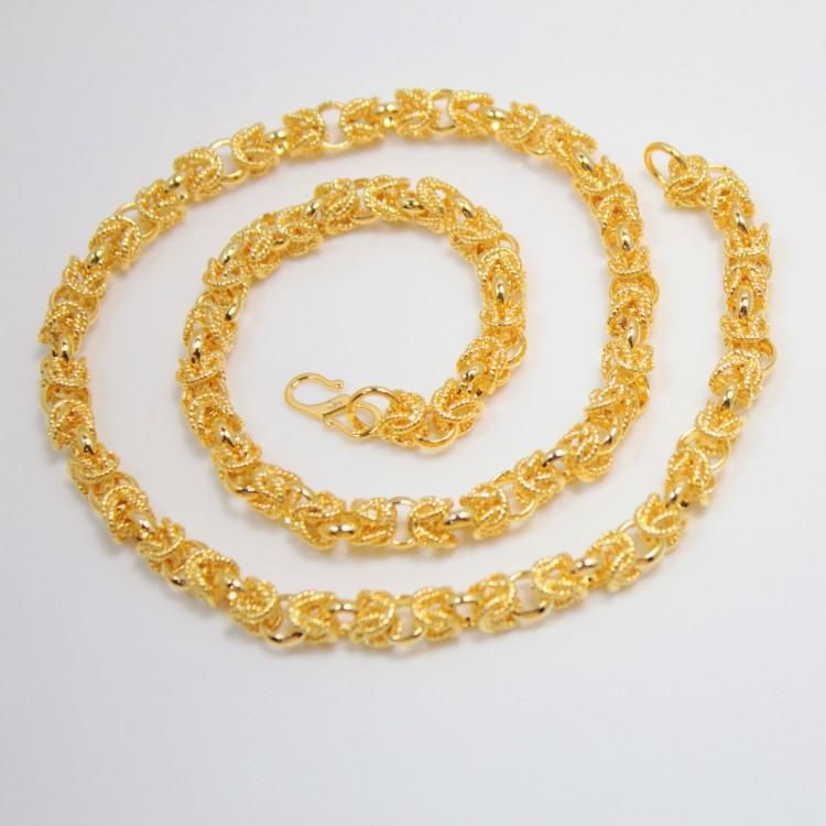 latest-fashions-plated-24k-gold-necklace.jpg 750×750 pixels | Gold ...