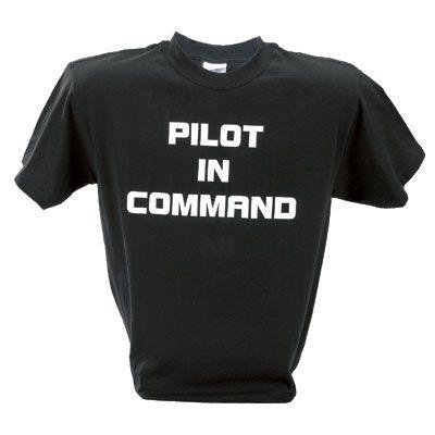bd434f0ed71 Pilot In Command T-Shirt - Sporty s Pilot Shop