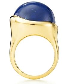 72e70b04d Elsa Peretti Cabochon Ring at Tiffany & Co. in lapis lazuli - I'm friggin  obsessed with lapis.