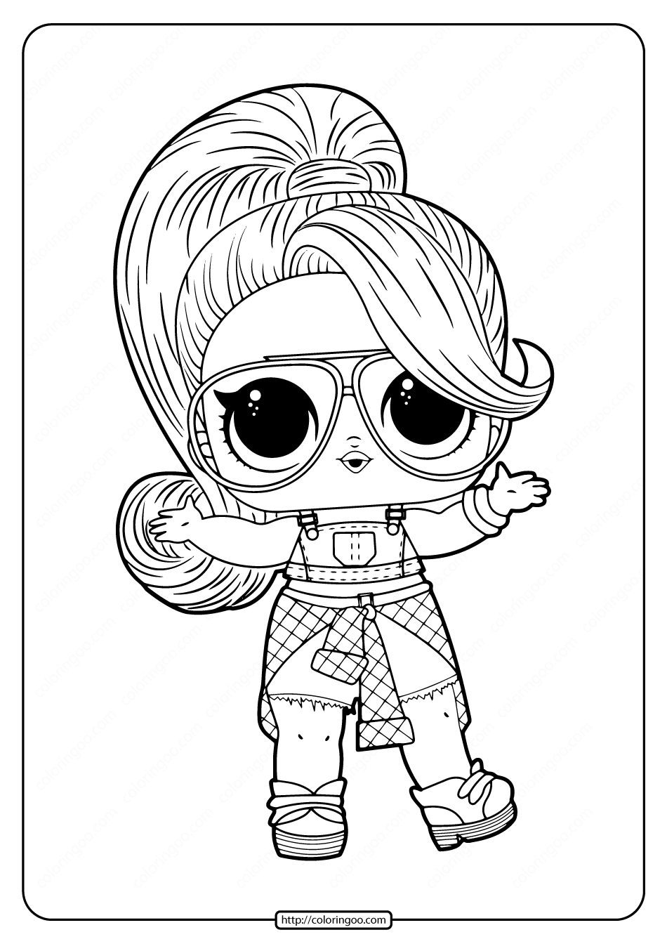 Free Printable Lol Doll Twang Coloring Pages Unicorn Coloring Pages Cool Coloring Pages Mermaid Coloring Pages