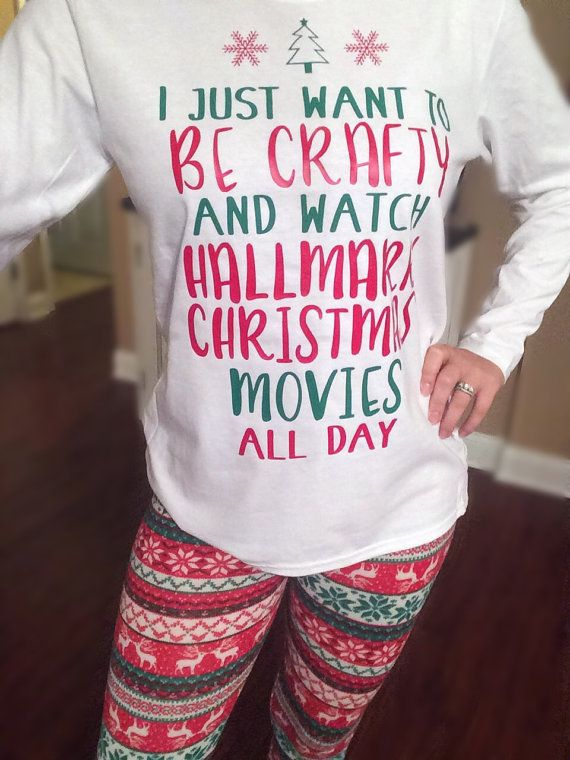 i just want to be crafty and watch hallmark christmas movies - Watch Hallmark Christmas Movies