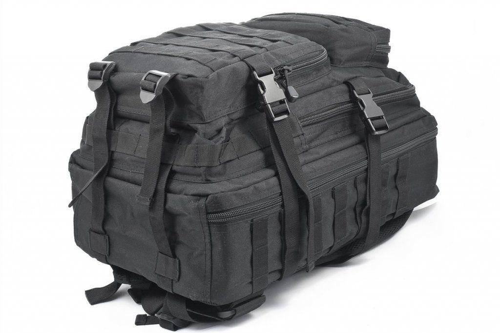 Amerikansk Army Patrol ASSAULT Ryggsäck 50L Svart   Tactical