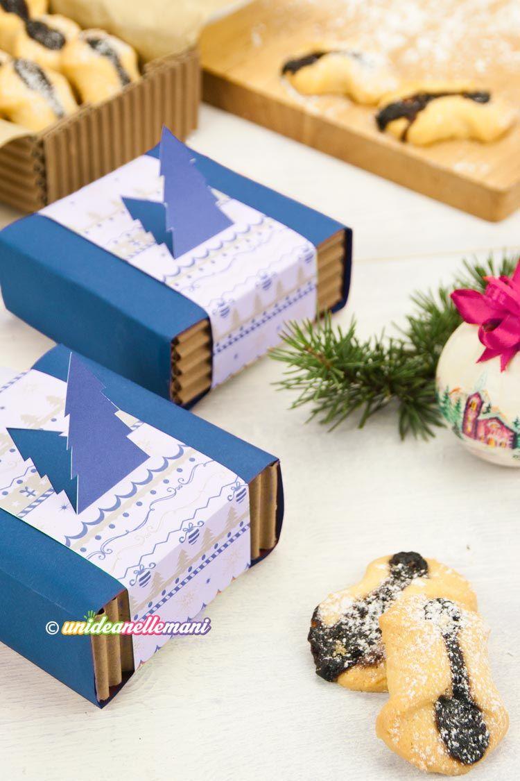 Come Fare Pacchetti Natalizi come creare pacchetti regalo per biscotti fatti in casa nel