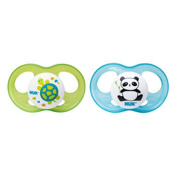 Nuk Orthodontic 2pk Pacifier New 0-6 months free shipping