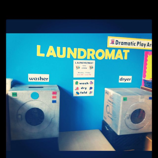 My Classroom Laundromat Dramatic Play Preschool Dramatic Play Themes Creative Curriculum Preschool