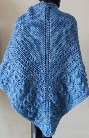 Nubbles Iceland Shawl Free Knit Pattern Crystal Free Patterns