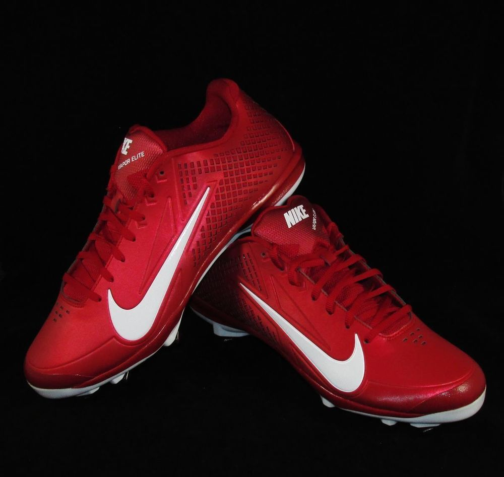 low baseball cleats red nike baseball cleats