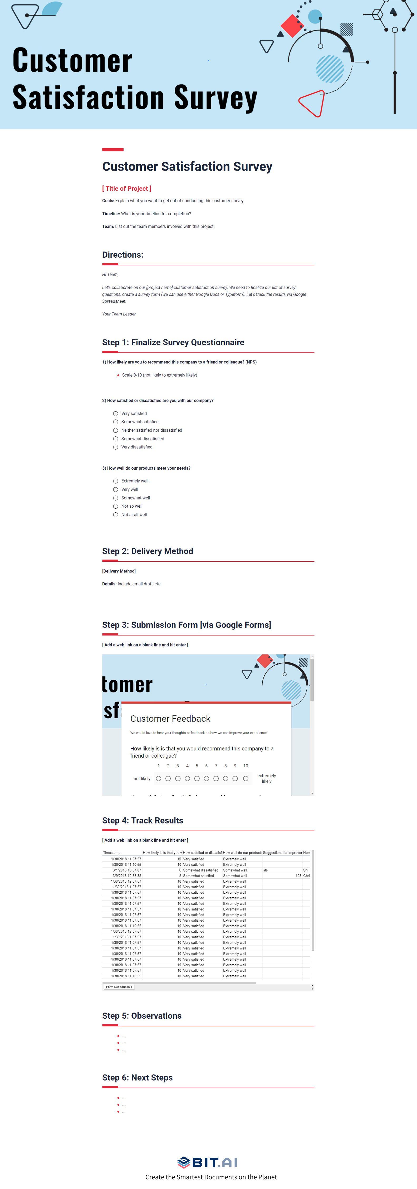 pin by bit ai on templates pinterest survey template customer