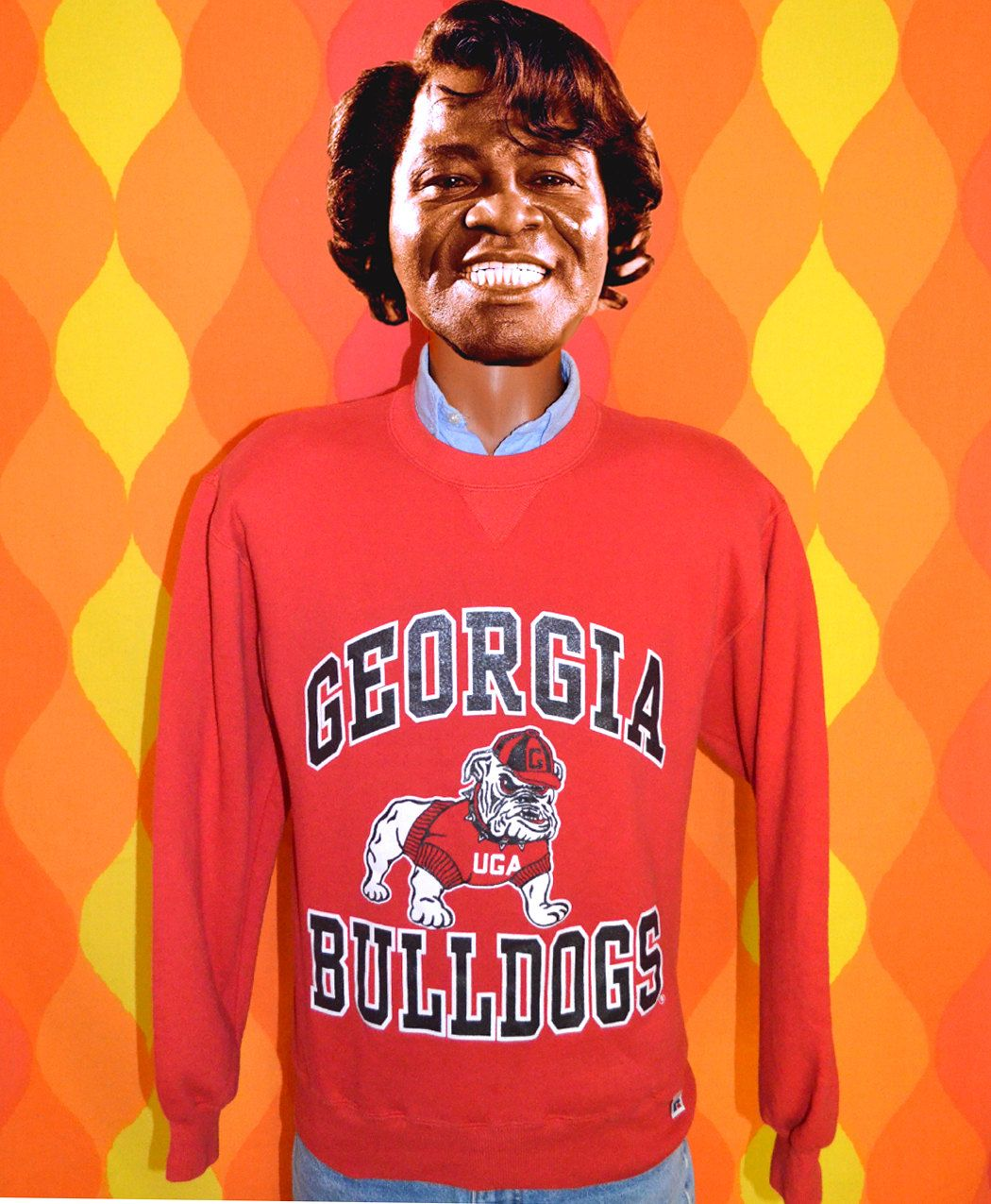Vintage 80s Sweatshirt University Of Georgia Uga Bulldogs Etsy 80s Sweatshirt Bulldog Sweatshirt Sweatshirts [ 1275 x 1050 Pixel ]