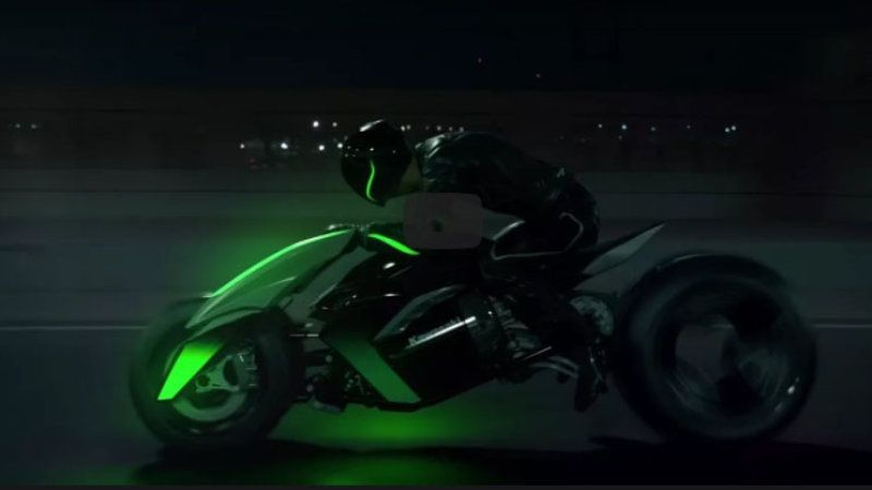 Kawasaki Concept J Converting 3 Wheel Bike Is Back In A Video