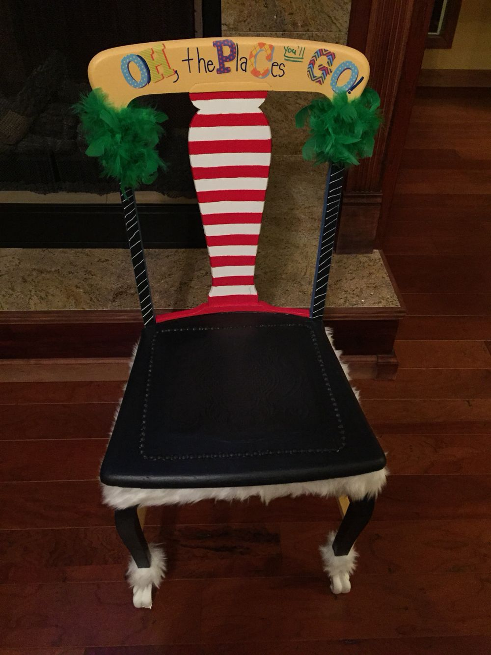Dr. Seuss Chair That I Made For A Pre K Class