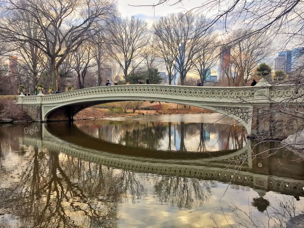 Bow Bridge Central Park by Gigi Altarejos @gigi_nyc | via newyorkcityfeelings.com - The Best Photos and Videos of New York City including the Statue of Liberty Brooklyn Bridge Central Park Empire State Building Chrysler Building and other popular New York places and attractions.