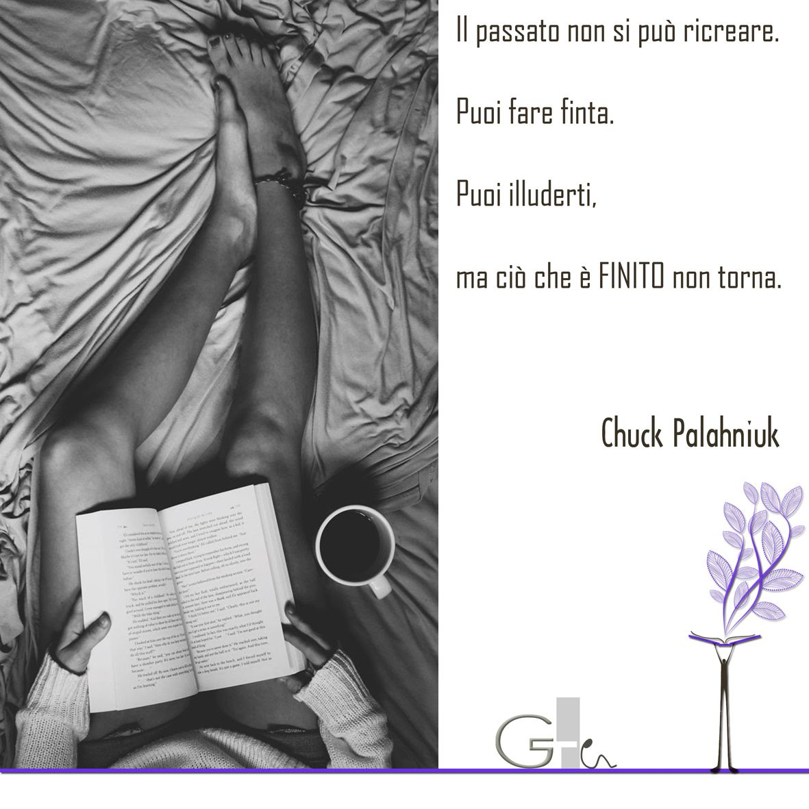 Citazioni Chuck Palahniuk Book Reading Quote G