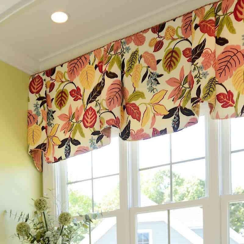 Swell Multi Colored Valances 16 Colorful Valance Ideas To Try Home Remodeling Inspirations Gresiscottssportslandcom