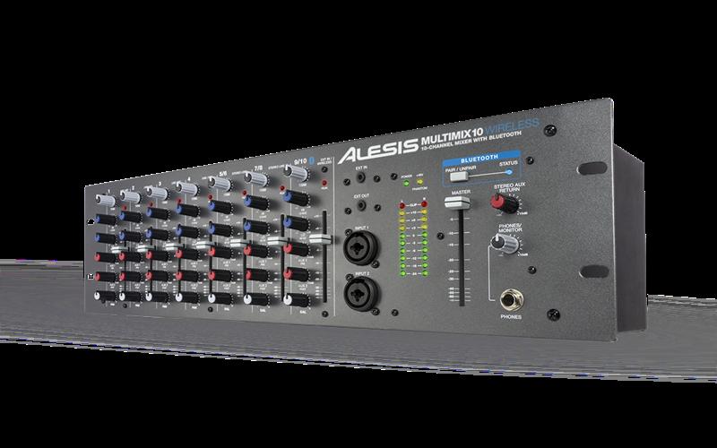 Alesis Multimix 10 Wireless Rackmount Mixer 10 Channel Dengan