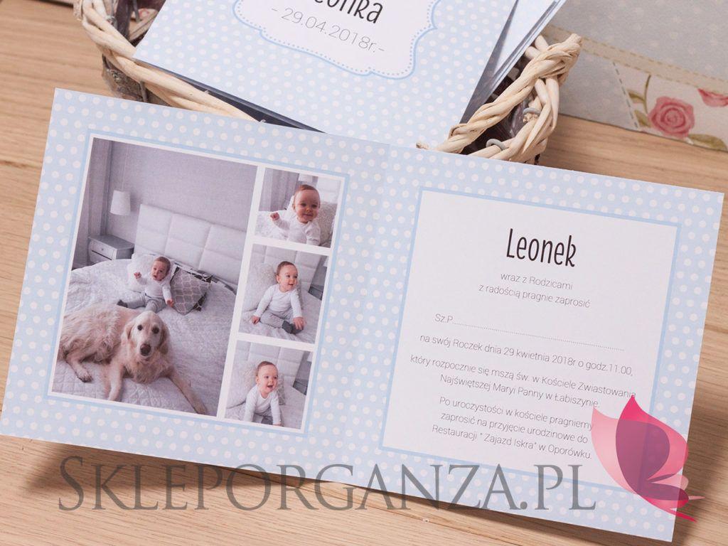 Zaproszenia Roczek Leonka With Images Frame Decor