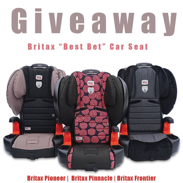 Britax Best Bet Car Seat Giveaway Car Seats Booster Car Seat
