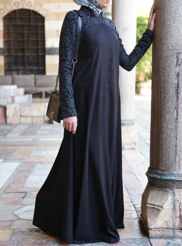 Zahra Embroidered Abaya Gown | Special Occasion Gowns | Pinterest ...