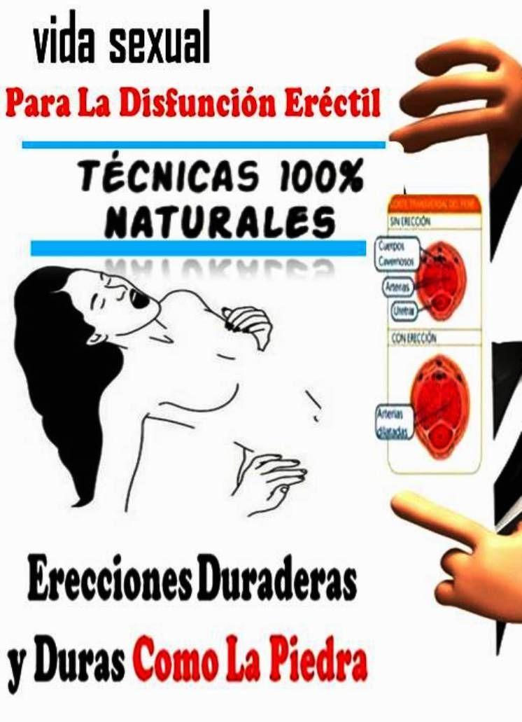 técnicas naturales de disfunción eréctil