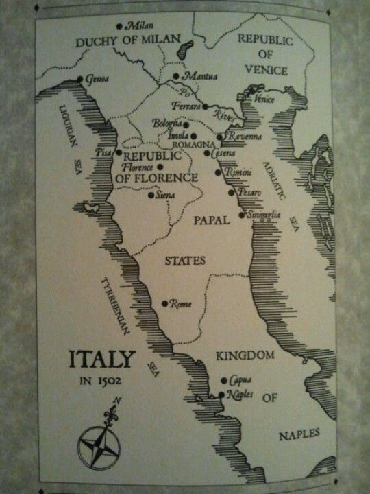 Italy 1502