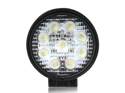 27w Dc 12v 24v Led Flood Work Lamp Off Road Floodlight 4x4 Jeep Cabin Boat Suv Truck Car Atvs Fishing Deck Driving Ligh Work Lamp Led Work Light Offroad Jeep