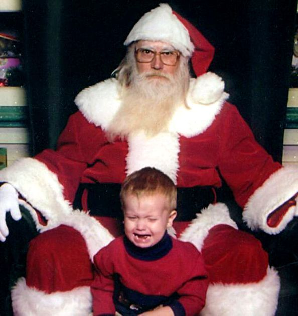 Kids With Santa \u2013 50 Funny Christmas Pictures Funny Pictures