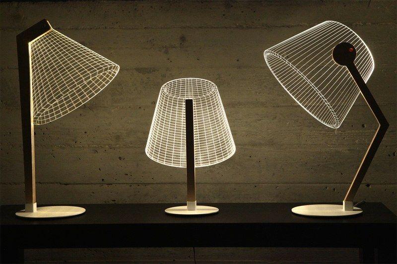 Lampen Aus Plexiglas Bulbing Mit Originellem 3d Effekt Lampen Beleuchtungskonzepte Coole Lampen