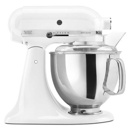 Complete your appliance collection with this must-have stand mixer, perfect for whipping up royal icing, cake batter, bread dough, and more....