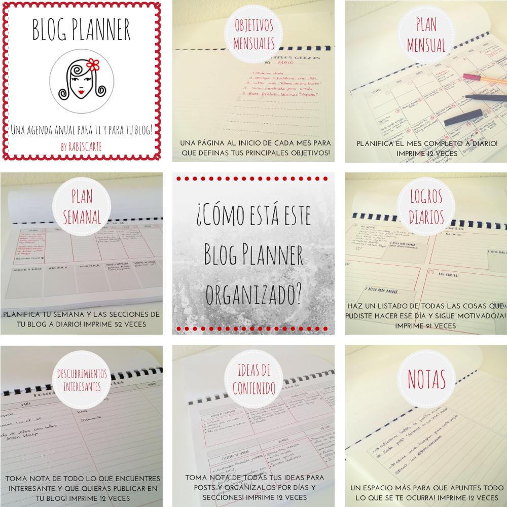 Blog Planner | rabiscarte