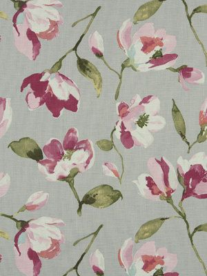 Contemporary Floral Fabric By The Yard By Greenapplefabrics 69 00