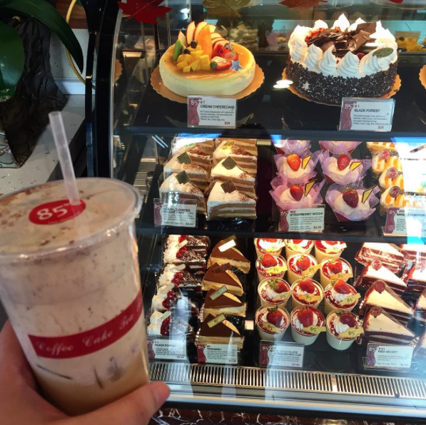 Picking up some treats for this office this morning from @85cbakerycafe! Because we didn't have enough goodies yesterday at our super bowl parties...