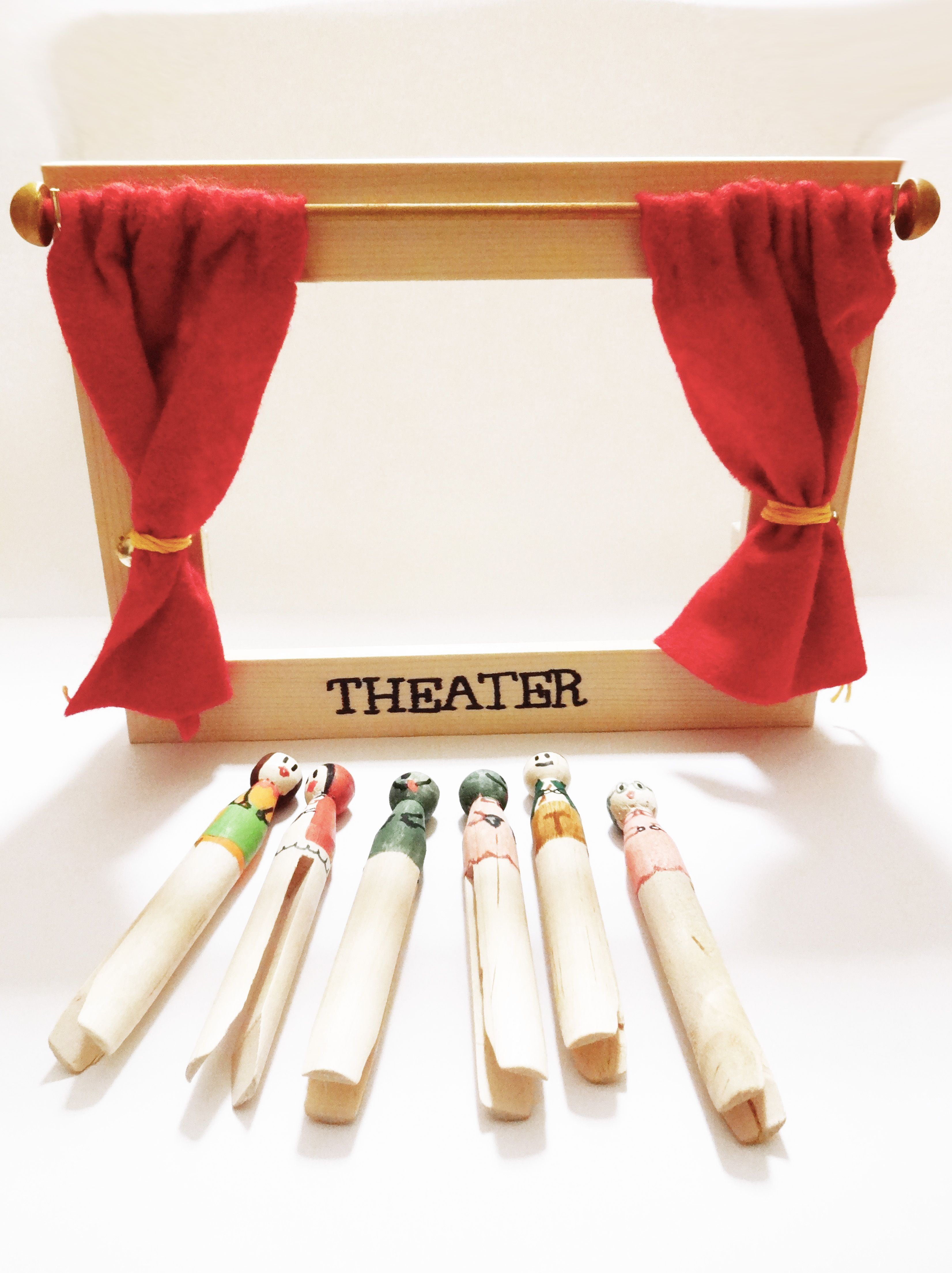 puppen theater geschenk pinterest puppen bastelei und puppentheater. Black Bedroom Furniture Sets. Home Design Ideas
