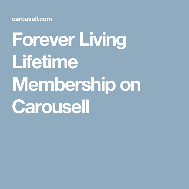 Forever Living Lifetime Membership On Carousell Forever Living