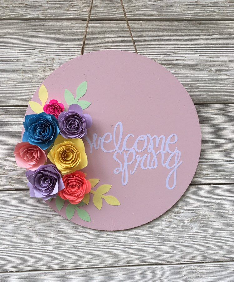 WelcomeFloral Fall Hanging Decor