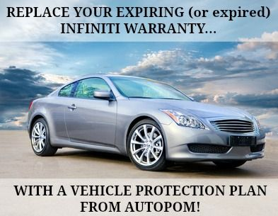 Infiniti Extended Warranties ARTICLES Cars Trucks The Like - Infiniti warranty