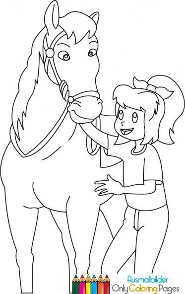 bibi und tina ausmalbilder pferde | Romys bilder | Pinterest