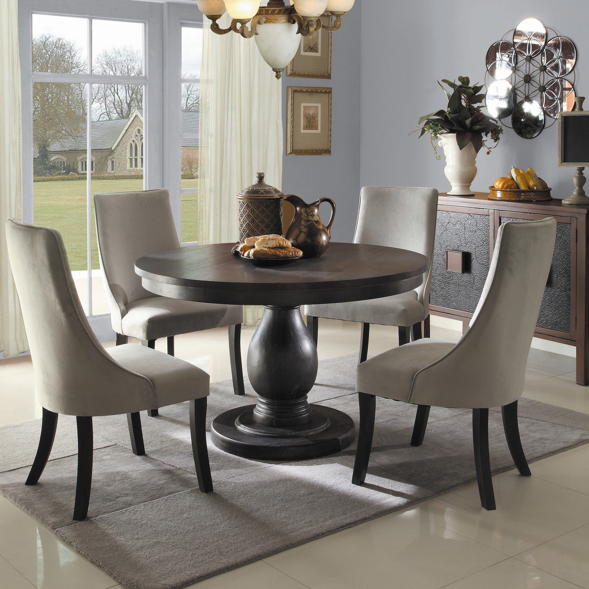 Comfortable Home Kitchen And Dining Room Furnishing Ideas With