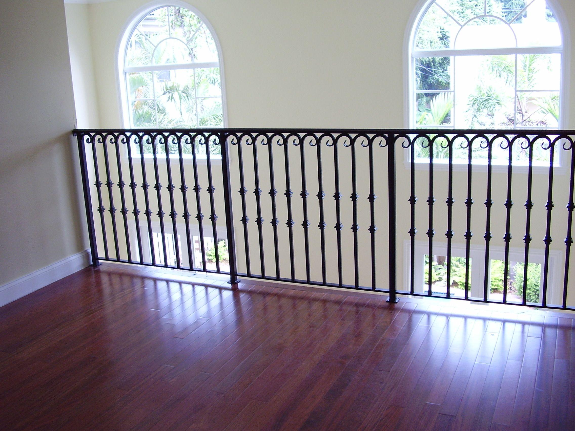 iron stair railings interior interior railings pro. Black Bedroom Furniture Sets. Home Design Ideas