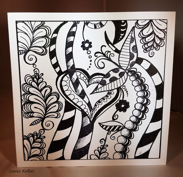 Art Journey Design-team: Art Journey Challenge #75: draw or doodle something/ teken of doodle iets